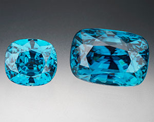 loose blue zircon