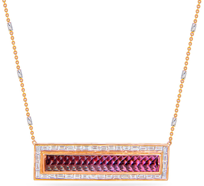 m spalten tourmaline brick necklace
