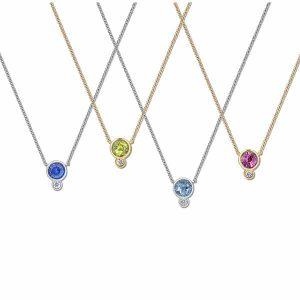 Annie James gemstone necklaces