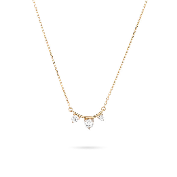 Adina Reyter 3 Amigos curve necklace