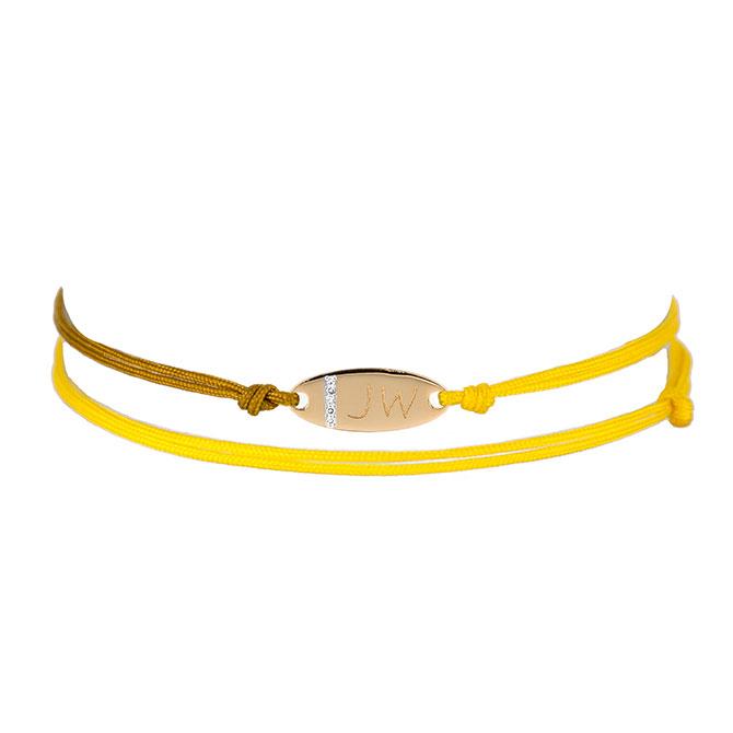 Adina Reyter oval friendship bracelet
