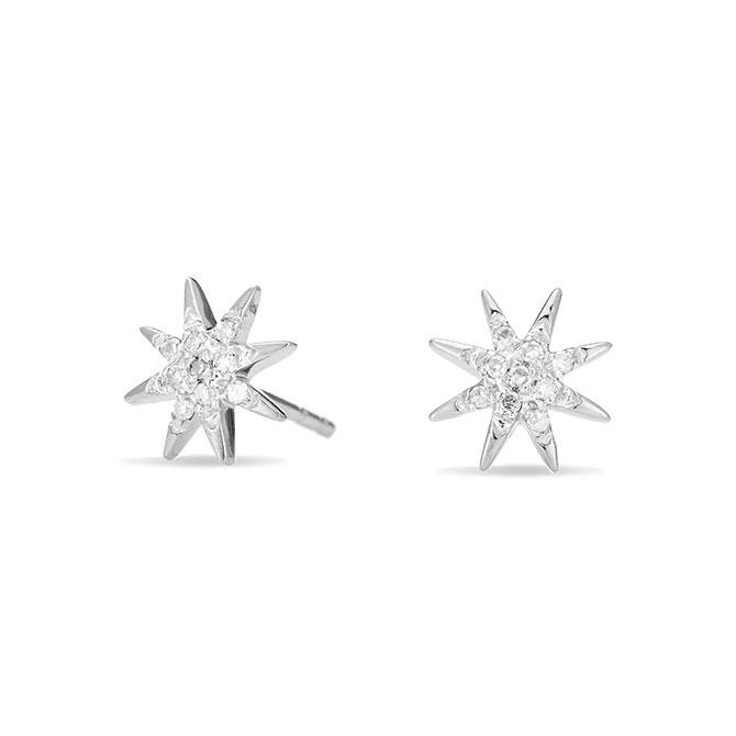 Adina Reyter starburst stud earrings
