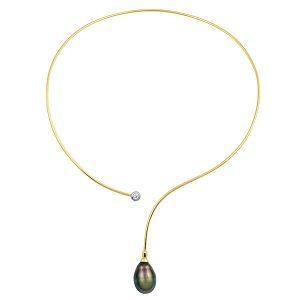 Baggins tahitian pearl collar