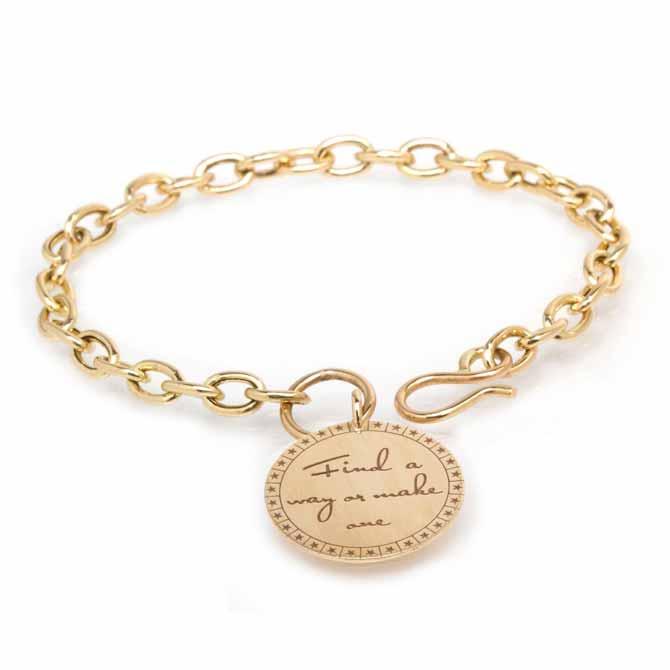 Zoe Chicco Find a Way Mantra bracelet