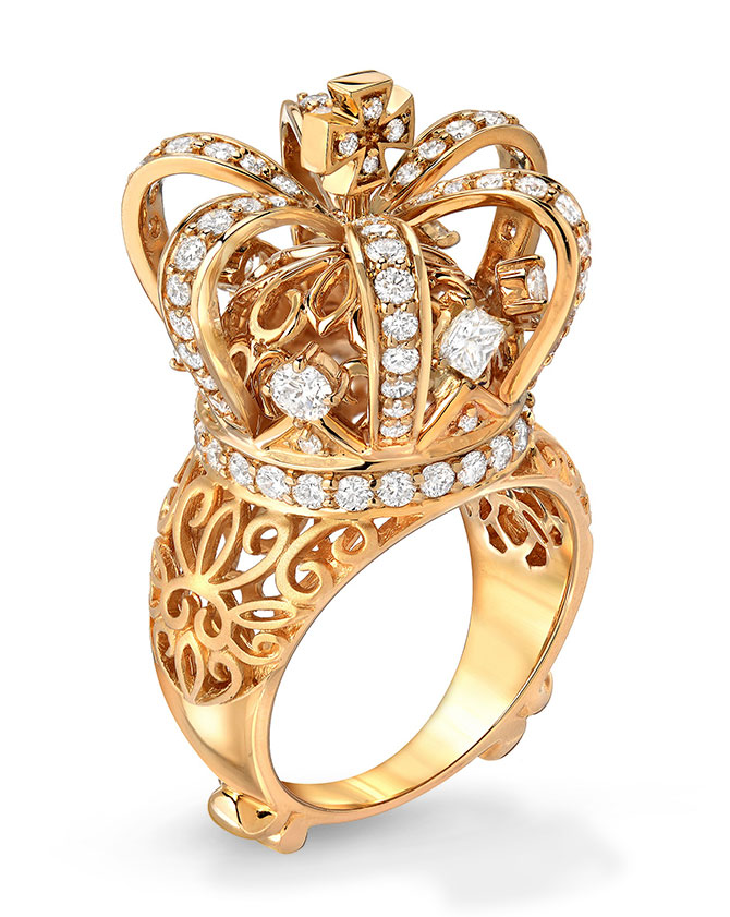 Dallas Prince signature crown ring