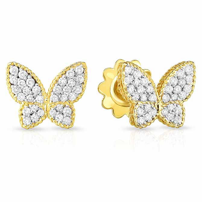 Roberto Coin butterfly earrings