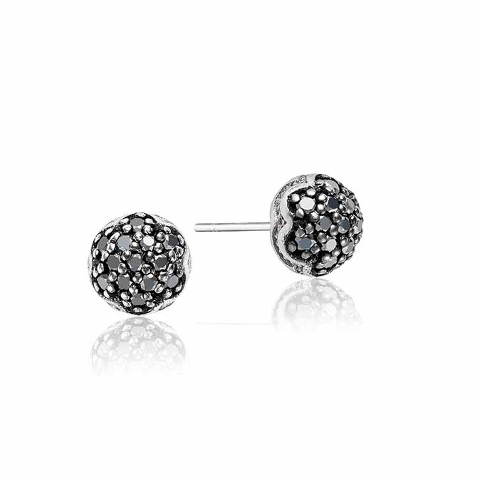 Tacori pave Dew Drop stud earrings