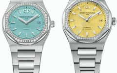 Girard Perregaux Laureato blue yellow