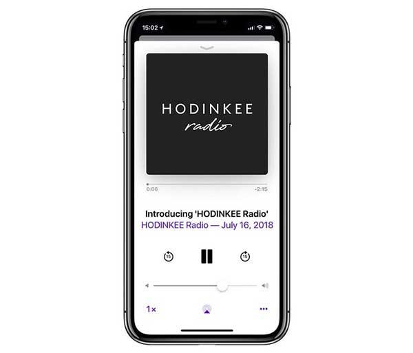 Hodiknee podcast