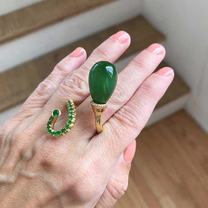 Ionescu Design jade ring