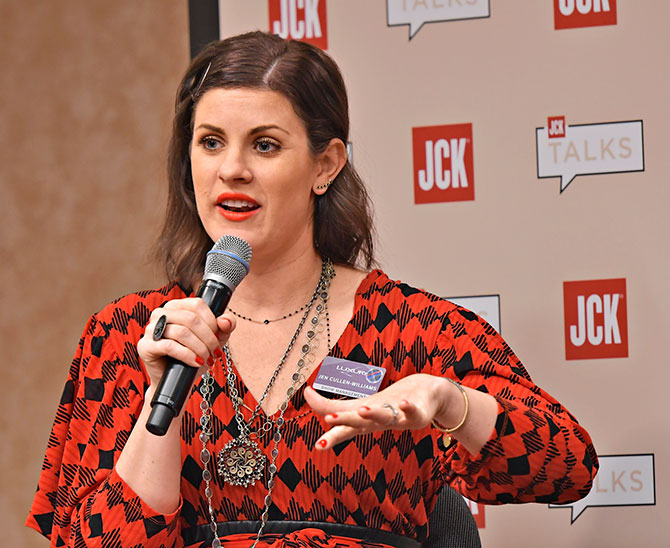 Jen Cullen Williams at JCK Las Vegas 2018