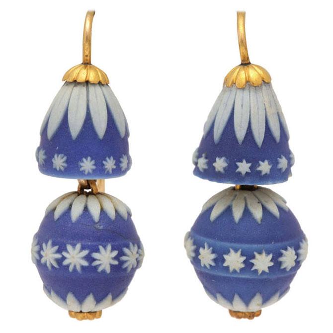 Josiah Wedgwood earrings