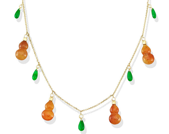 Mason Kay jade necklace