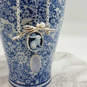 Natalie Hoogeveen bunny necklace