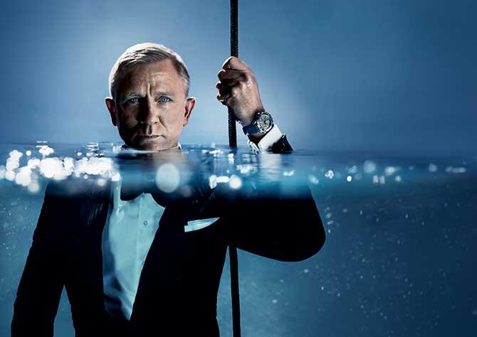 Omega ad starring Daniel Craig