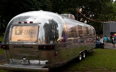 Oris Airstream trailer pop-up experience