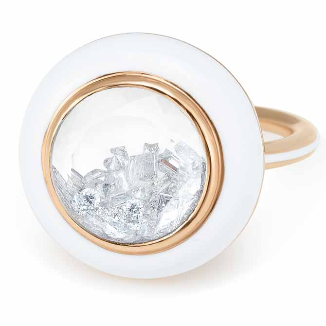 Moritz Glik Apollo diamond ring