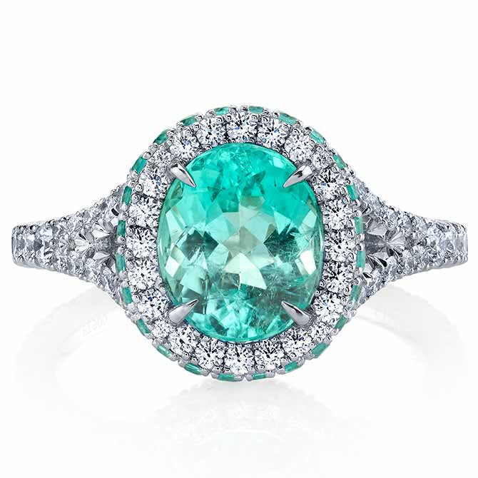 Omi Prive mint ring