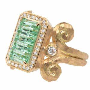 Pamela Froman Green Goddess ring