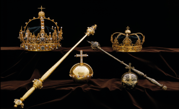 Swedish crown jewels stolen