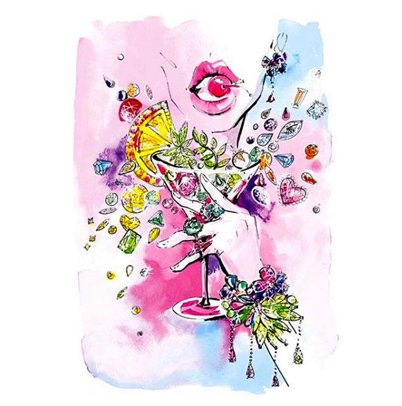 Swarovski Gem Visions spring summer 19 inspiration