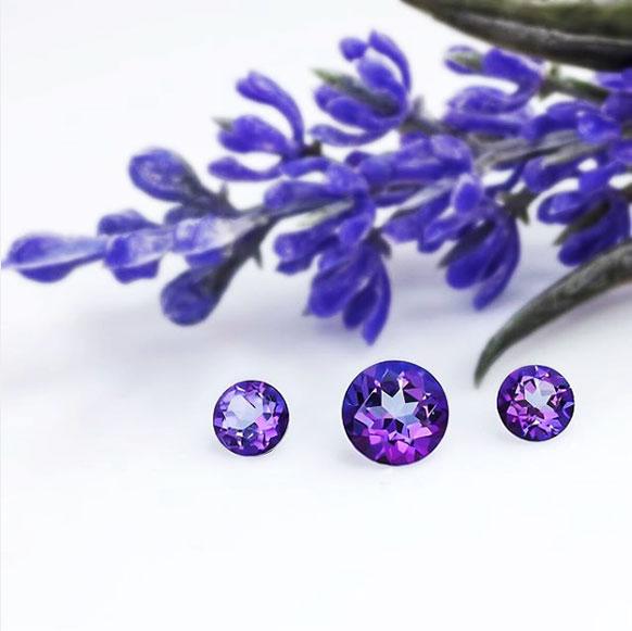 Swarovski Gem Visions violet topaz gems