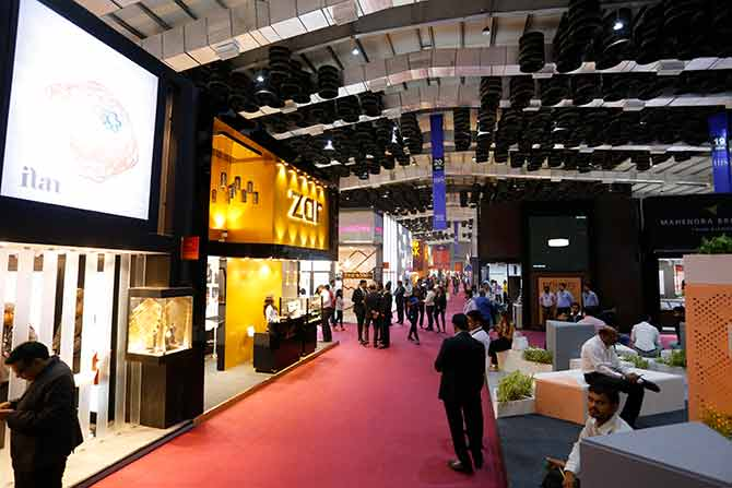 India International Jewellery Show Hall 7A