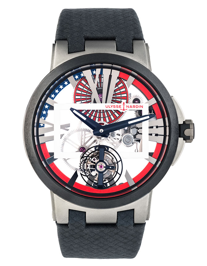 Ulysse Nardin stars and stripes tourbillon