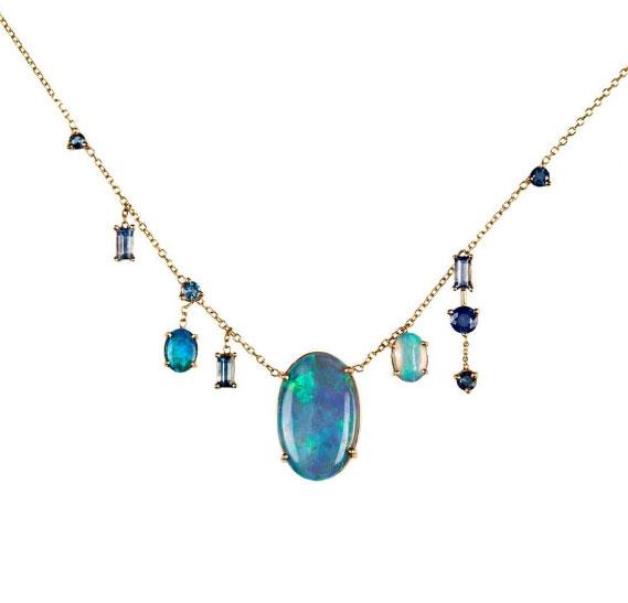 WWake opal necklace Melee