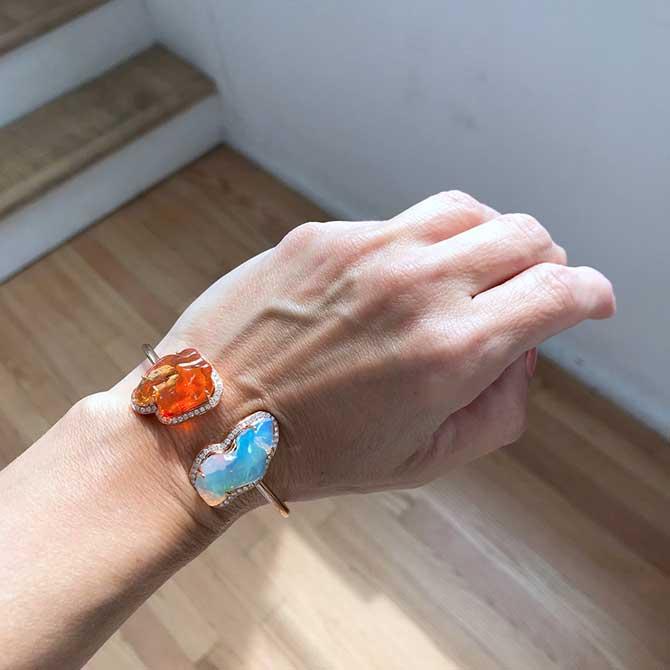 Yael Designs opal bracelet
