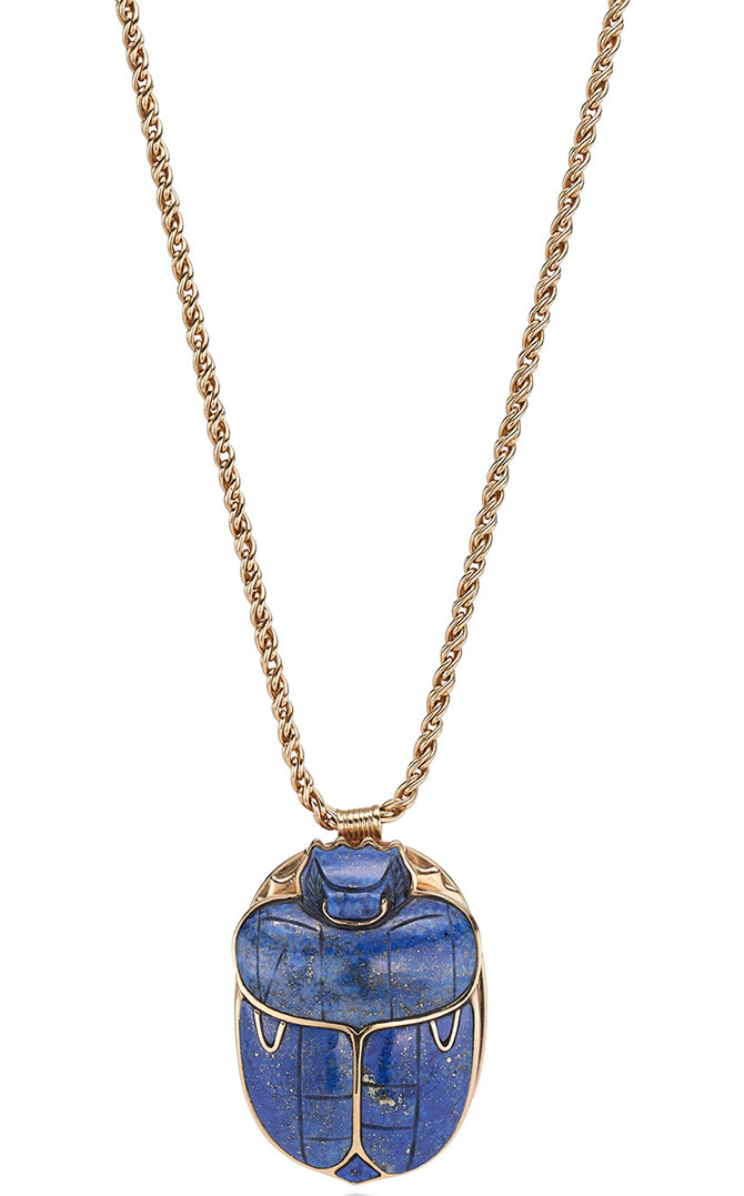beneficial scarab necklace