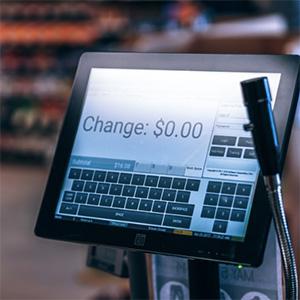 Cashier cash wrap