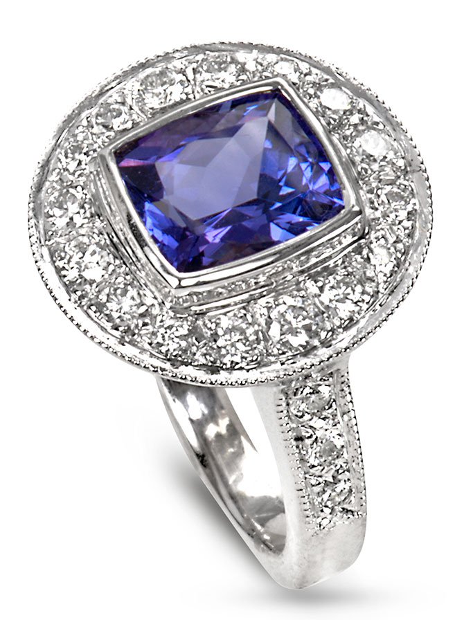 just jules tanzanite ring