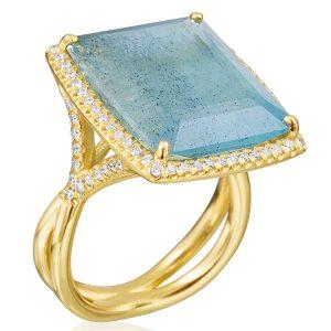 lauren k aquamarine ring