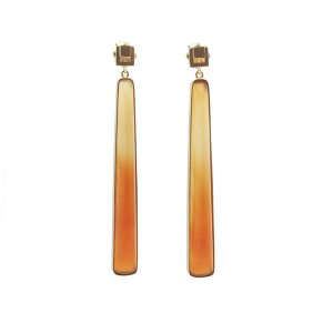 Airy Heights chalcedony earrings