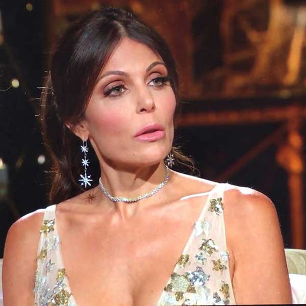 Bethenny Frankel in Kristen Farrell earrings