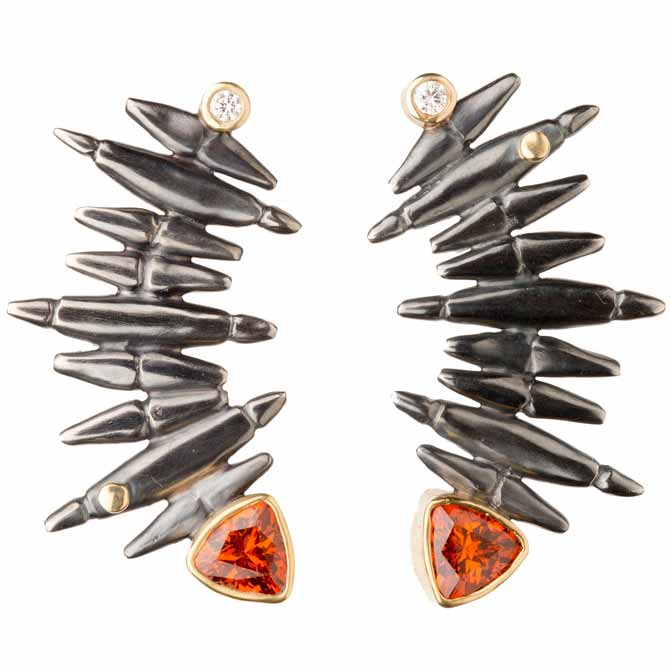 Alison Antelman Grand Staircase garnet earrings