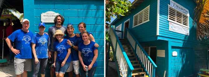 Forevermark volunteers in Honduras