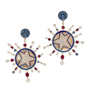 Francesca Villa Electrifying Blue Star earrings