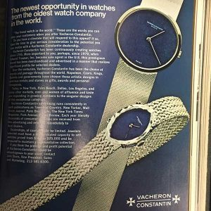 JCK March 1973 Vacheron Constantin ad