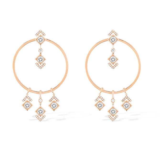 Messika x Gigi Hadid hoop earrings