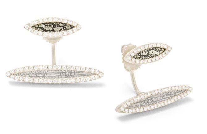 Monique Pean earrings