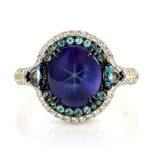 Omi Prive star sapphire ring
