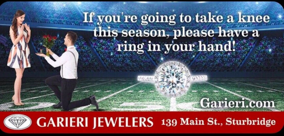 Garieri Jewelry take a knee billboard