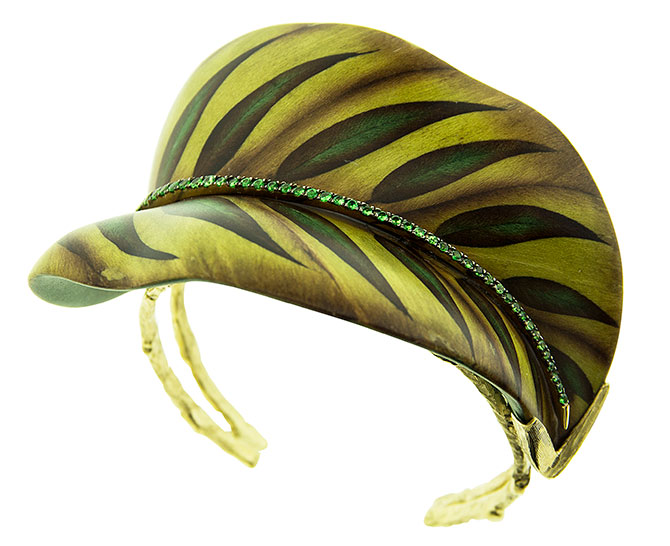 Silvia Furmanovich Leaf bracelet