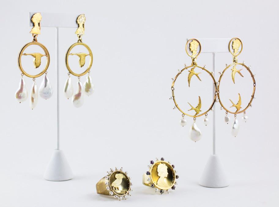 Stacey Lee Webber Oscar de la Renta jewelry