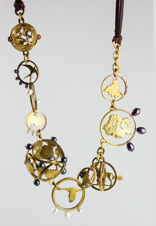 Stacey Lee Webber Oscar de la Renta necklace
