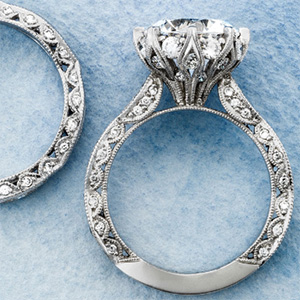 Tacori diamond rings