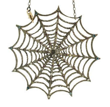 Alp Sagnak spider necklace