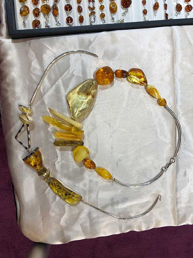 Amberman necklaces